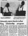 Maine Campus_Maine Campus_University starts Martin Luther King Scholarship program
