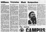 Maine Campus_ Williams keynotes Black Symposium