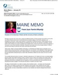 University President memo on Martin Luther King Day by Joan Ferrini-Mundy