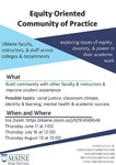 Equity Oriented Community of Practice