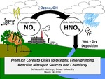 From Ice Cores to Cities to Oceans: Fingerprinting Reactive Nitrogen Sources and Chemistry by Meredith Hastings