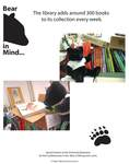 Bear in Mind  - The Library adds around 300 books to its collection every week