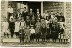 Pupils in Mill School, Moose River, Maine, 1920s