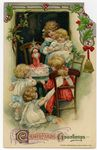Christmas Greetings Postcard by John Winsch