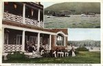 New Mount Kineo House, Motor Boat Races at the Yacht Club, Moosehead Lake, Maine Postcard