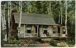 Birch Bark Cottage at Kineo, Moosehead Lake, Postcard