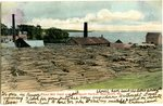 Pikes Mill Yard and Searsport Harbor, Searsport, Me. Postcard