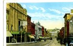 Bangor Main Street from Opera House Postcard