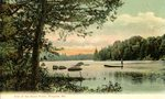 One of the Rowe Ponds, Bingham, Maine, Postcard