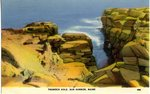 Thunder Hole, Bar Harbor, Maine           Postcard