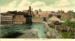 Saco and Pettee Shops, Biddeford, Maine, Postcard