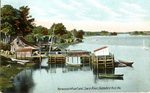 Norwoods Wharf and Saco River Postcard
