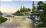 Acadia National Park Ocean Drive Extension Postcard