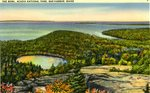 The Bowl, Acadia National Park, Postcard