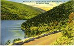 Mountain Road and Jordan Pond Postcard