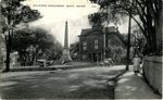 Bath, Maine Soldiers Monument Postcard