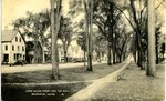 Brunswick Upper Main Street and the Mall Postcard