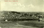 Panoramic View of Caribou, Maine          Postcard