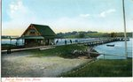 Camp Ellis Pier Postcard