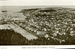 Bird's Eye View of Camden, Maine Postcard