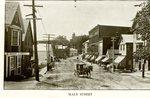 Main Street, Camden, Maine Postcard