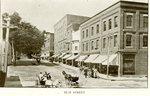Camden, Maine  Elm Street Postcard
