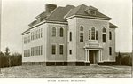 Camden High School Building Postcard