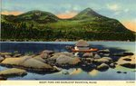 Rocky Pond and Doubletop Mountain, Maine Postcard