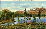 Maine's Doubletop and Oji Mountains Postcard