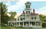 Dexter, Maine Plummer Memorial Hospital Postcard