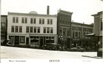 Dexter, Maine Postcard Showing Bert Call Studio