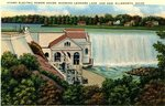 Hydro Electric Power House Postcard