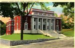 Hancock County Court House Postcard