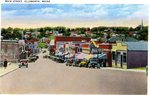 Ellsworth Main Street Postcard