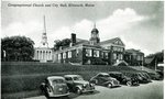 Ellsworth, Maine, Congregational Church and City Hall