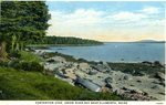 Contention Cove, Union River Bay Postcard