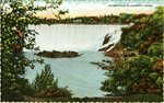 Waterfalls of Ellsworth Postcard