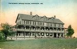 Harrison Summit Spring House Postcard