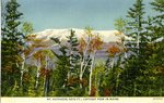Mt. Katahdin, Loftiest Peak in Maine, Postcard