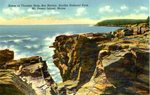 Thunder Hole Postcard