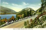 Acadia National Park, Jordan Pond Postcard