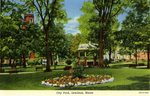 Lewiston, Maine, City Park        Postcard