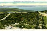 Cadillac Mountain Summit Road Postcard