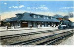 Lewiston Maine Central Railroad Station Postcard