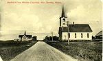 New Sweden, Maine, Baptist and Free Mission Churches
