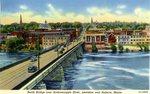 Auburn, Maine, North Bridge across the Androscoggin River