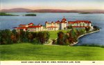 Mount Kineo House,   Moosehead Lake,    Postcard