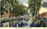 Lewiston Mills Along the Canal Postcard