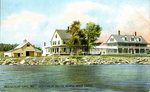 Seboomook House,  Moosehead Lake,         Postcard