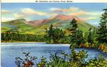 Mount Katahdin and Daicey Pond Postcard